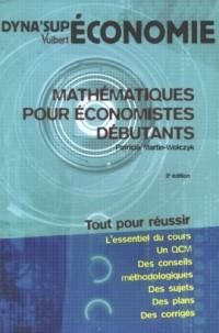 Mathématiques pour économistes débutants