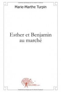 Esther et Benjamin au marché