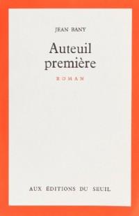 Auteuil première