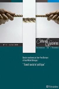 Cultures & sociétés N11. Travail social et politique