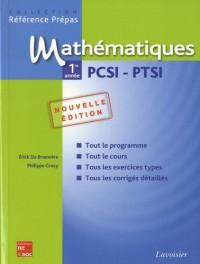 Mathématiques 1e année PCSI-PTSI