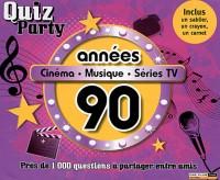 Années 90 : Cinéma, musique, séries TV (1Jeu)