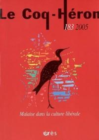 Coq Heron 183 Malaise Dans la Culture Li