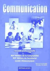 COMMUNICATION ET ORGANISATION BEP LIVRE DU PROF ED 02