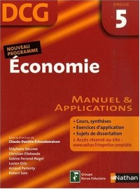 Economie Epreuve 5 - DCG - Manuel et applications