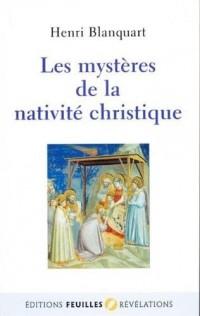 Les mystères de la nativité christique