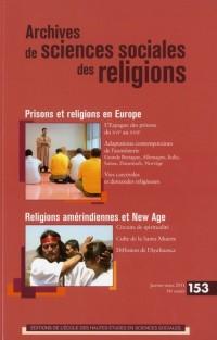 Revue Archives de Sciences Sociales des Religions N153 Pratiques Religieuses et Assistance Spirituel