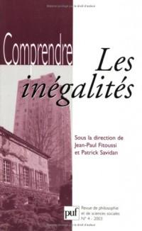 Comprendre, numéro 4 : Les inégalités