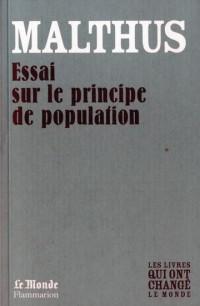 Essai Sur le Principe de Population (Monde)