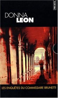 Coffret Donna Leon : Péchés mortels - Entre deux eaux - Noblesse oblige