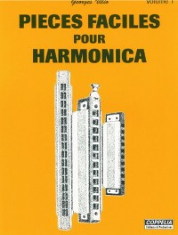 Partition: Harmonica pieces faciles vol. 1