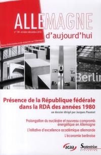 Formes de la Presence de la Rfa en Rda Dans les Annees 80