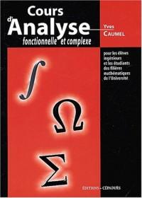 Cours d'analyse fonctionnelle et complexe