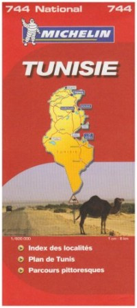 Tunisie : 1/800 000