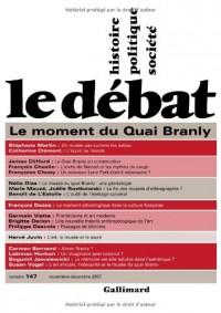 Le Débat, N° 147, novembre-déc : Le moment du quai Branly