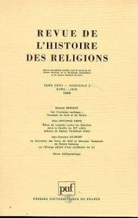 Revuede l'histoire religieuse. 1995 n.2 t.212