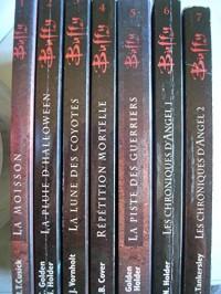 buffy contre les vampires tomes 1 a 7 (T1: la moisson ,T2: la pluie d'halloween ,T3: la lune des coyotes ,T4: répétition mortelle ,T5: la piste des guerriers ,T6: les chroniques d'angel tome 1 ,T7: le