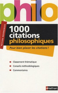 1000 Citations de philosophiques