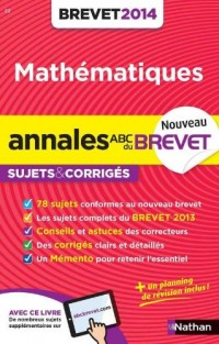 ANNALES BREVET 2014 MATHS