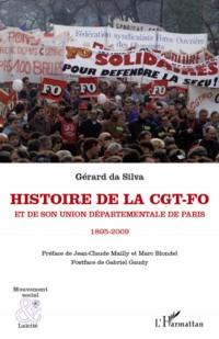Histoire de la Cgt Fo et de Son Union Departementale de Paris 1895 2009