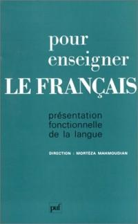 Pour enseigner le français, 1ère édition
