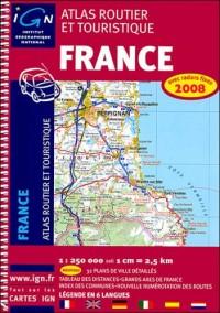 Atlas routier et touristique France : 1/250 000