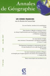 Annales de Géographie, N° 658 :