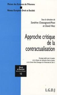 Approche critique de la contractualisation