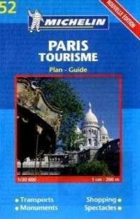 Plan de ville : Paris Tourisme, numéro 19052, transports, monuments, shopping, spectacles