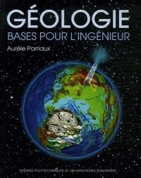 Géologie : Bases pour l'ingénieur (1Cédérom)