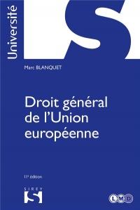 Droit général de l'Union européenne - 11e éd.