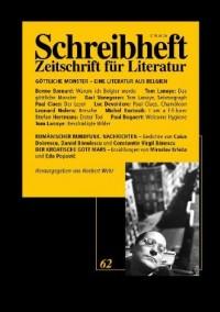 Göttliche Monster: Eine Literatur aus Belgien (Livre en allemand)