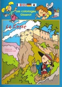 Les Coloriages Gisserot : la Corse