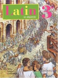 Latin, 3ème