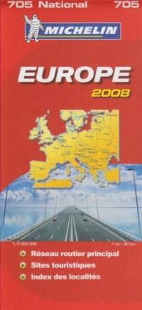 Carte Routiere 705 Europe Routiere et Touristique 2008