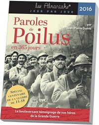 Almaniak Paroles de poilus en 365 jours 2016