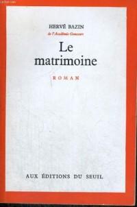 Matrimoine (le)