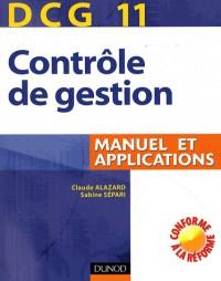 Contrôle de gestion DCG 11 : Manuel et applications