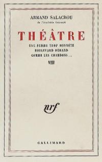 Théâtre (Vol. 8)