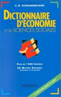 Dictionnaire d'économie et de sciences sociales