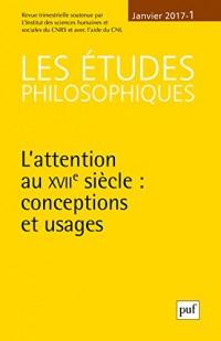 Les Études Philosophiques 2017 N 1 T120
