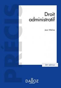 Droit administratif - 26e éd.