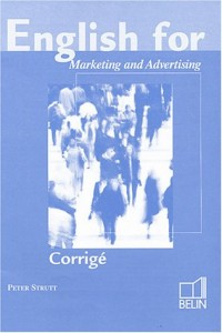 English for marketing and communication, prof