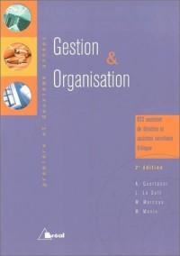 Gestion et organisation, BTS assistant de direction : première et deuxième années