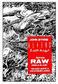Aliens Earth Angel Raw Edition Edition Exclusive Collector Original Comocs 250 ex