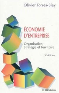 Economie d'entreprise : Organisation, stratégie et territoire