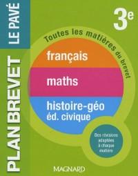 Français - Maths- Histoire-Géo, Education civique 3e