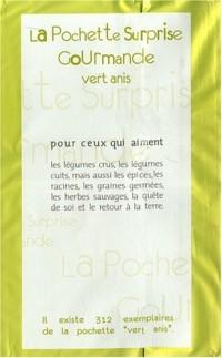 La pochette surprise gourmande Vert anis