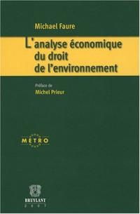 L'analyse économique du droit de l'environnement