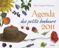 Agenda des petits bonheurs 2011